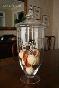 Halloween apothecary jars -single 1 blog