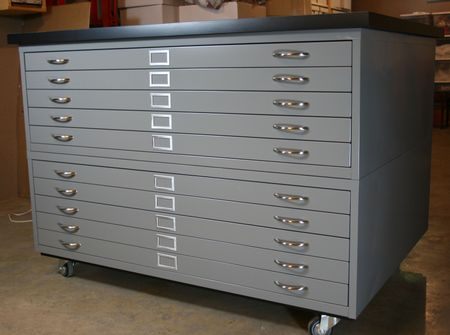 eab designs: before & after - paper storage paper filing cabinet