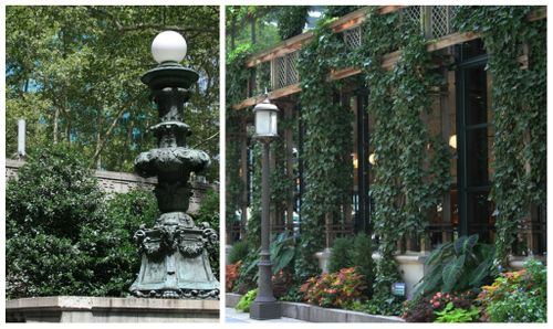 Bryant park collage 3