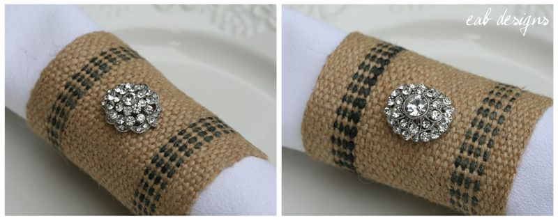 Napkin ring collage 2