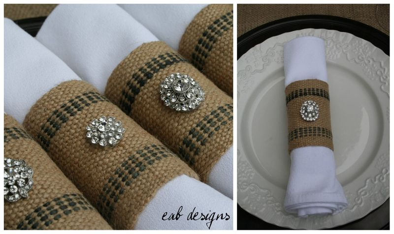 Napkin ring collage 1