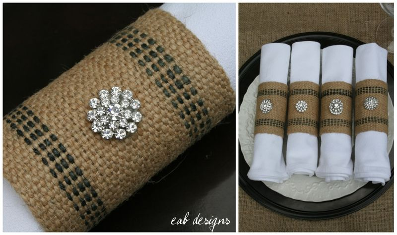 Napkin ring collage 3