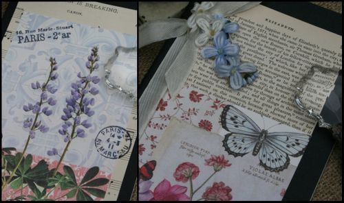Journal botanical collage