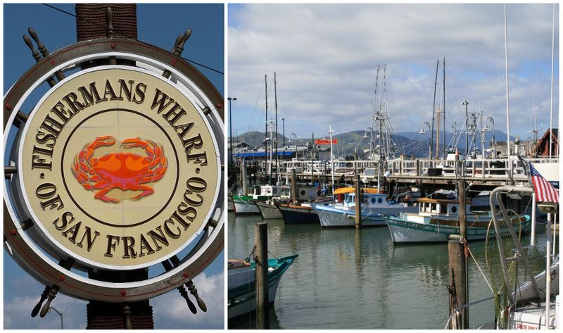 Fishermans wharf collage