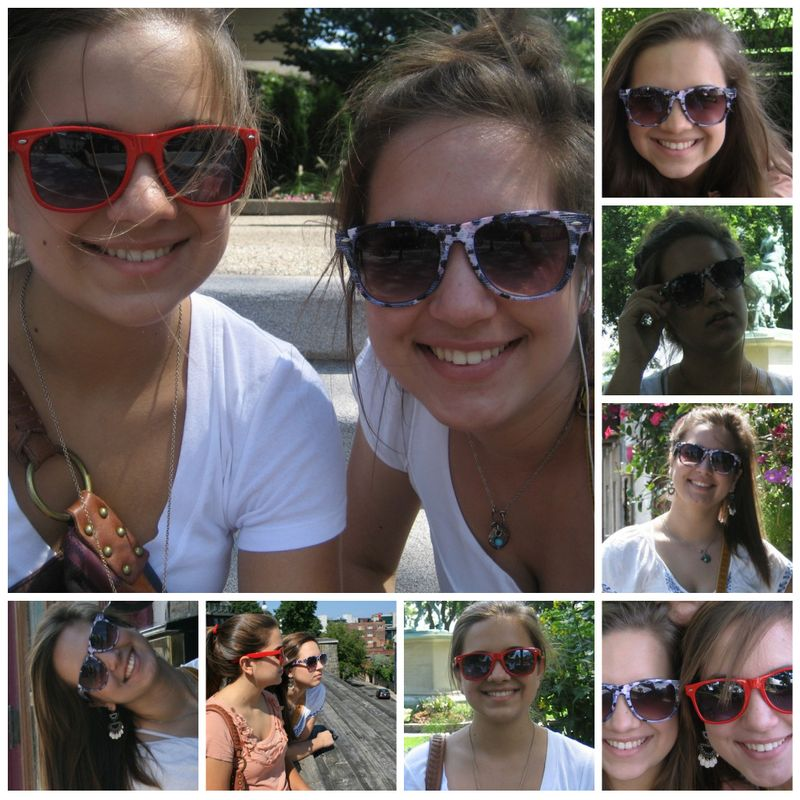 Sunglasses collage