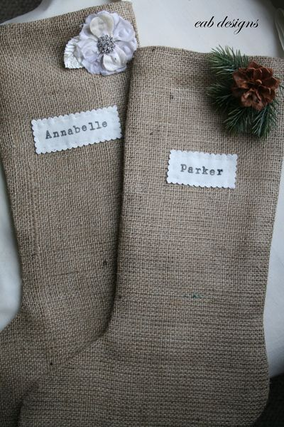 Personalized stocking 2