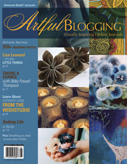 Artful blogging cover