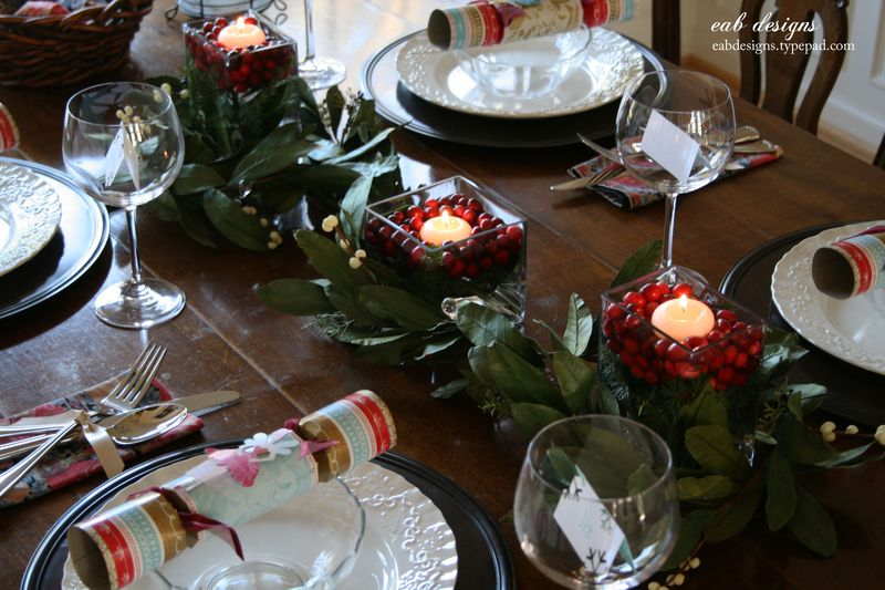 Christmas table 1