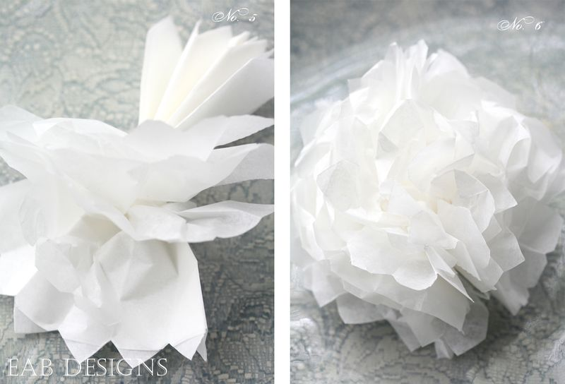 Paper flower tutorial layout 3