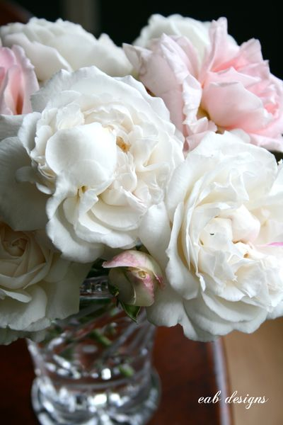English garden roses bouquet eab