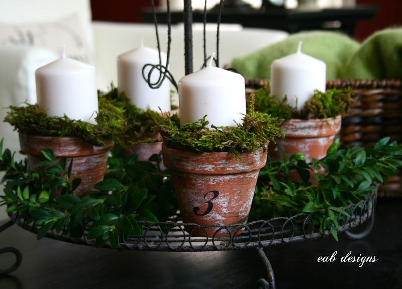 Advent candles 7