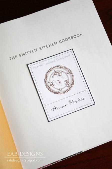 Eab designs cookbook bookplate 1