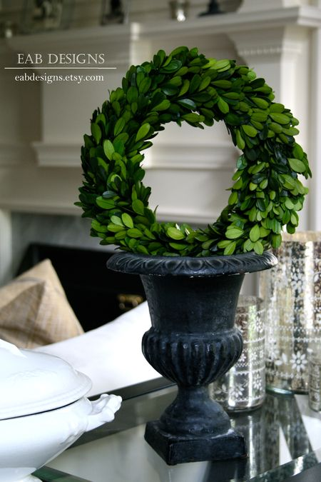 Eab designs boxwood wreath 1