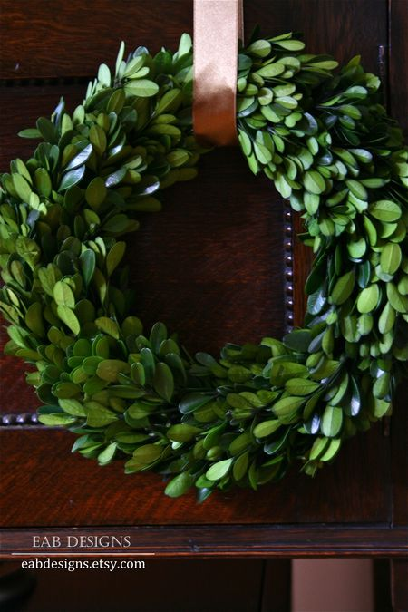 Eab designs boxwood wreath 4