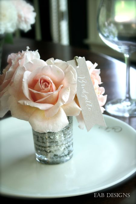 Floral placecard 4