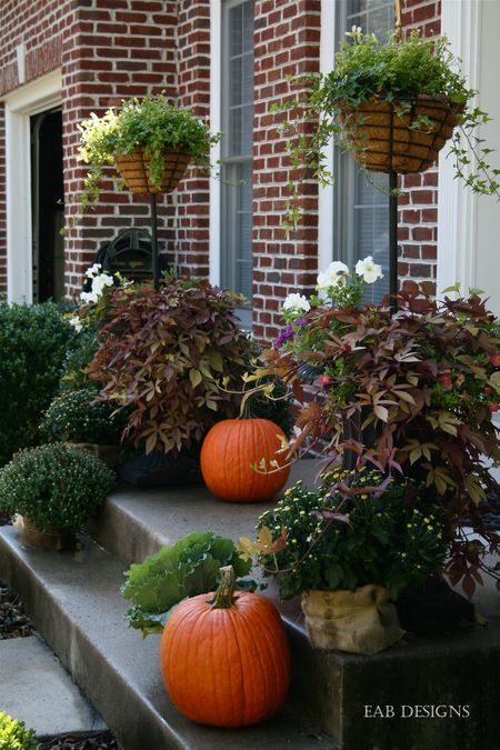 EAB DESIGNS fall front porch 4