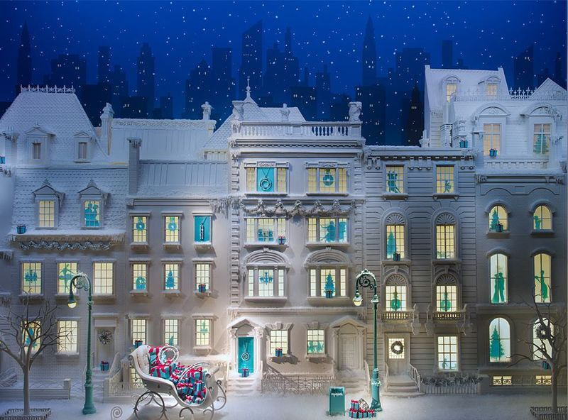 Tiffany&co holiday windows