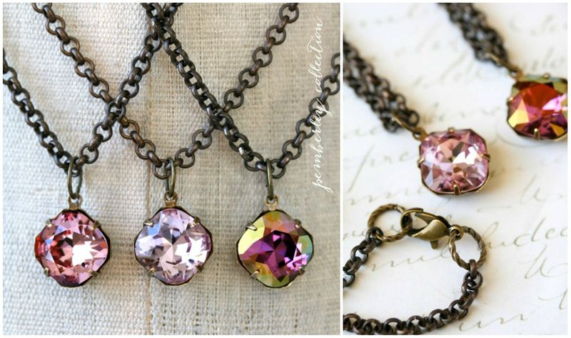 Pemberley Collection Radiant Orchid Necklaces