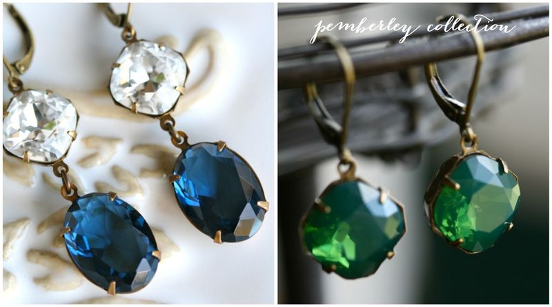 Pemberley collection earrings