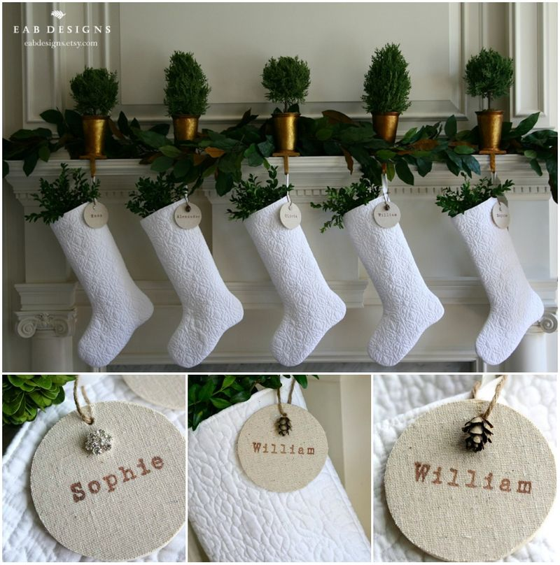 EAB DESIGNS white stocking 5