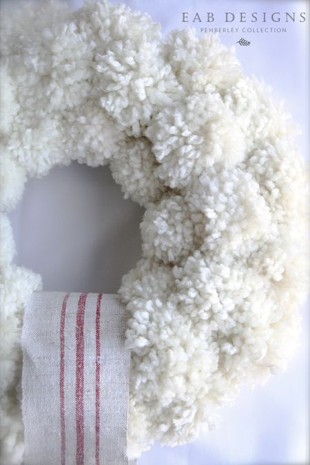 EAB DESIGNS pom pom wreath 2