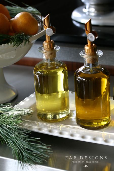 EAB DESIGNS olive oil bottles