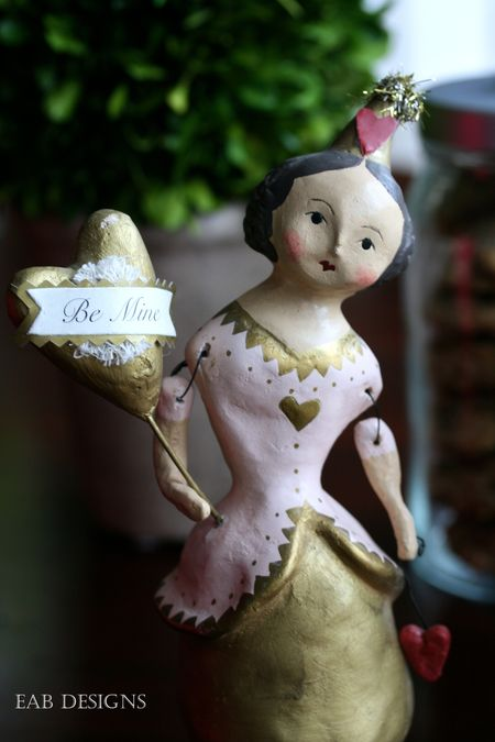 Eab designs valentine doll