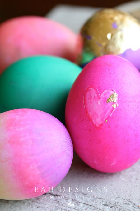 EAB DESIGNS Pink Easter Eggs