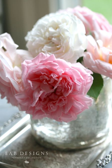 EAB DESIGNS English Garden Roses 2