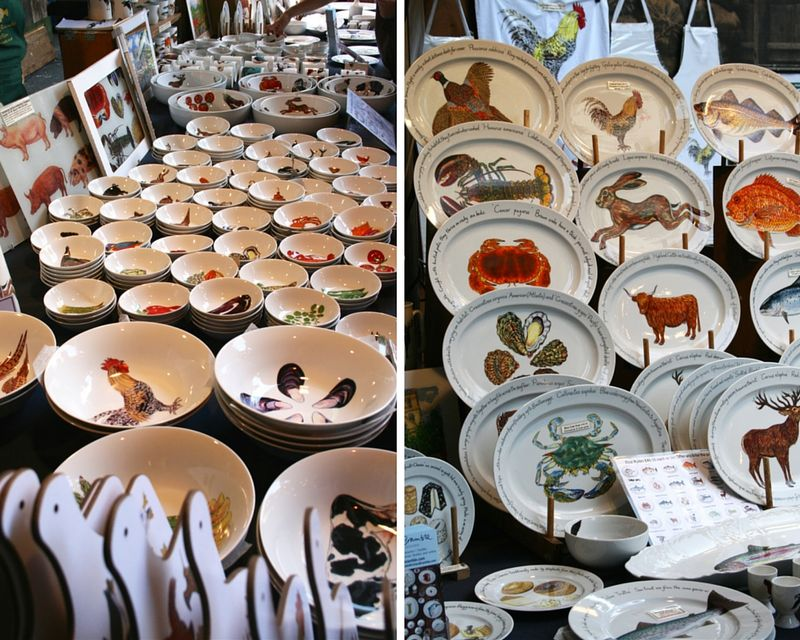 Borough market - dishes - eab designs