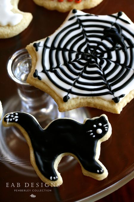 EAB DESIGNS Halloween Cookies