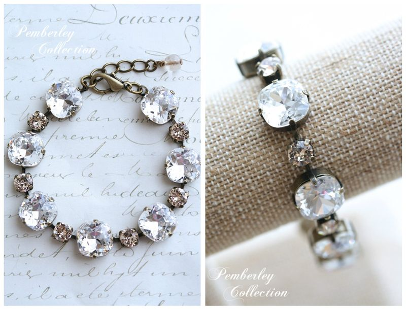 Pemberley Collection Cushion Cut Bracelet