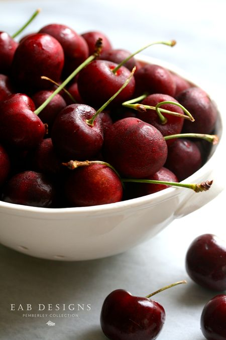 EAB DESIGNS bing cherries