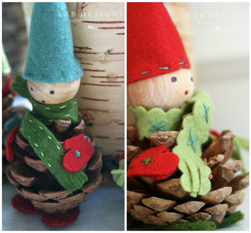EAB DESIGNS Elves Embroidery Details