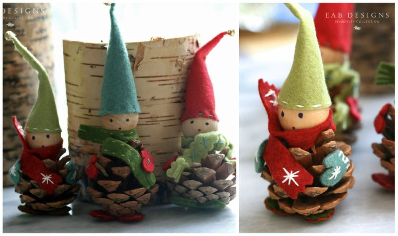 EAB DESIGNS Christmas Elves C