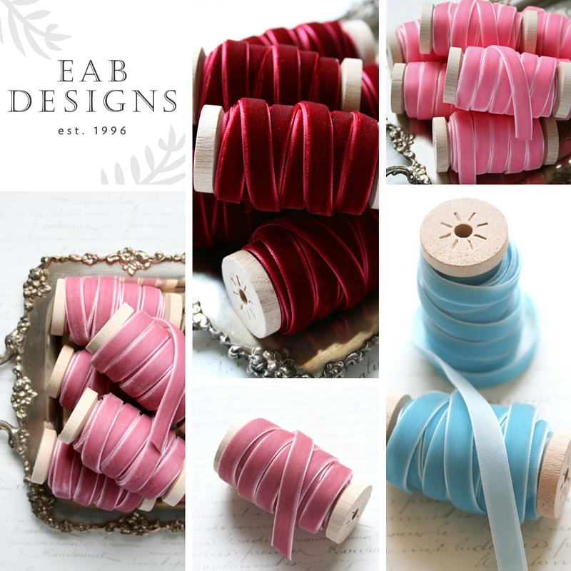 EAB Designs Velvet Ribbon Additions