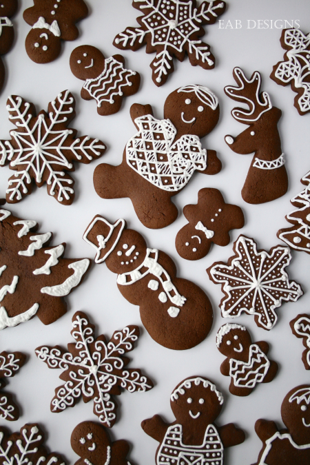 EAB DESIGNS Gingerbread Cookies