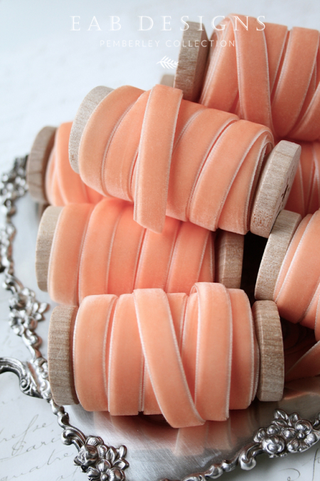 EAB-DESIGNS-Peach-Velvet-Ribbon-3